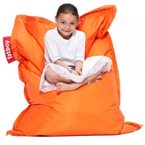 pouf original junior fatboy bleu glace
