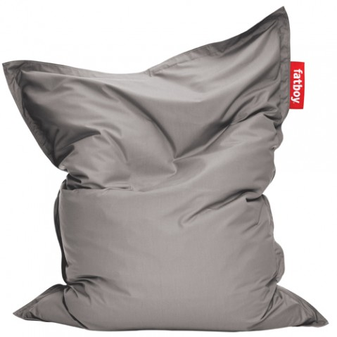 pouf original outdoor fatboy grey
