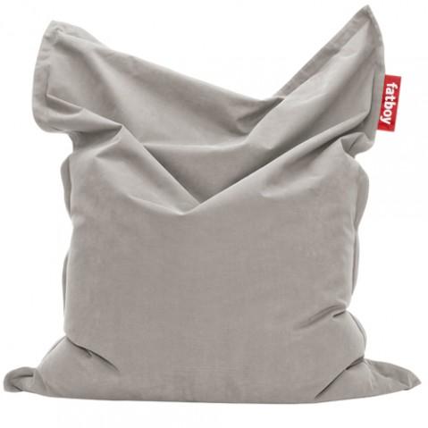 pouf original stonewashed fatboy silver grey