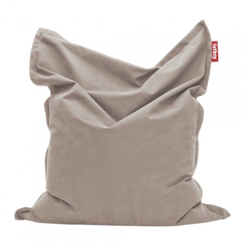 pouf junior stonewashed fatboy taupe