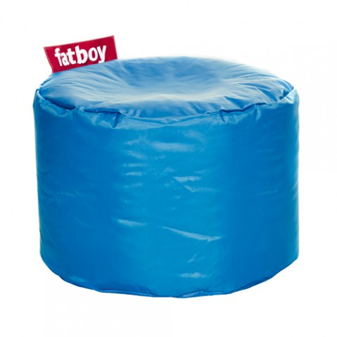pouf point fatboy bleu petrole