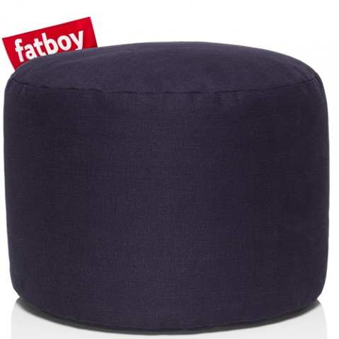 pouf point stonewashed fatboy dark blue