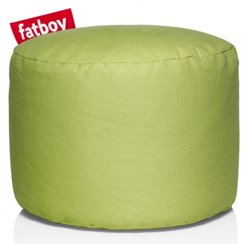 pouf point stonewashed fatboy lime green