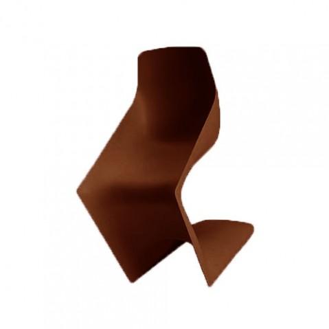 Pulp Chaise Design Kristalia Marron