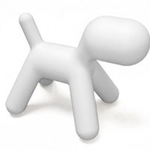 Magis chaise pour enfants Puppy blanc