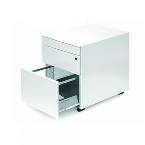 element rangement cassettiera c1 la palma laque blanc