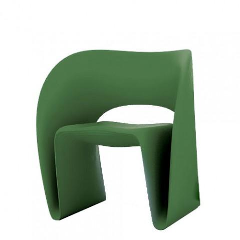 Raviolo Magis fauteuil design vert foncé