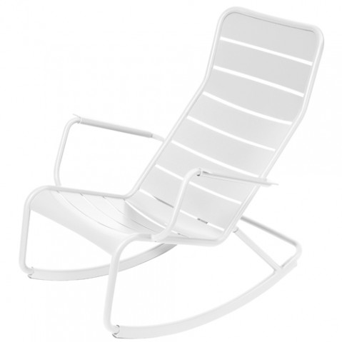 rocking chair luxembourg fermob blanc