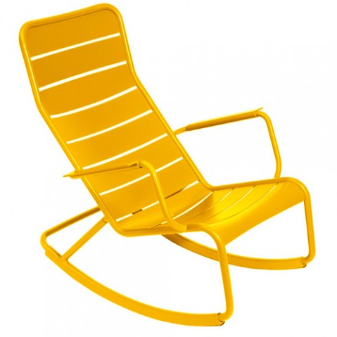 rocking chair luxembourg fermob miel