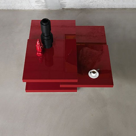 Rotor Table Basse Design Kristalia Blanc