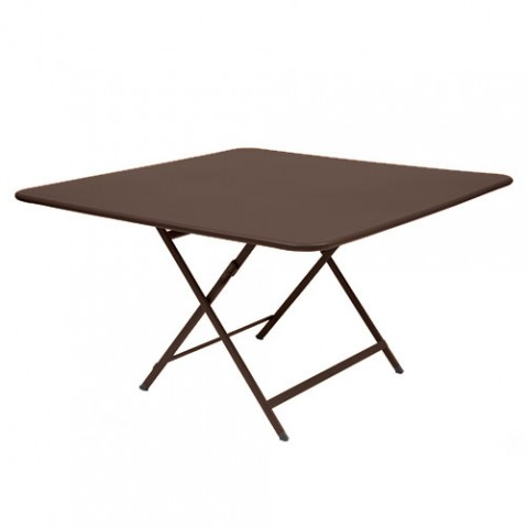 table pliante fermob caractere rouille