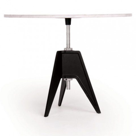 TABLE REGLABLE SCREW, 2 options de TOM DIXON