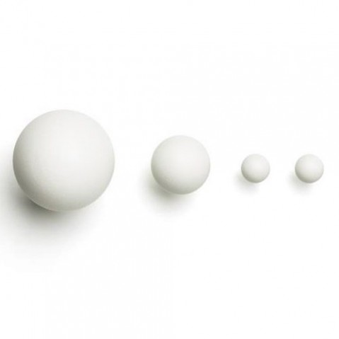 set pateres orb david design blanc