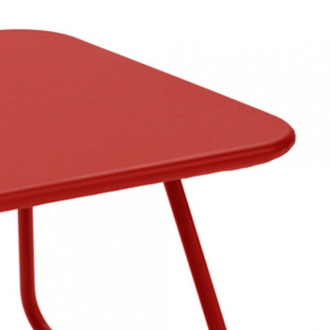 sixties fermob table basse cedre