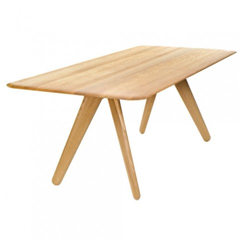 Slab table design tom dixon naturel 200cm