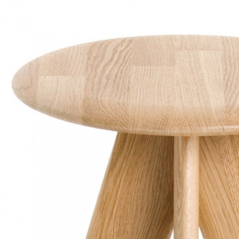 Slab tabouret de bar Tom dixon naturel
