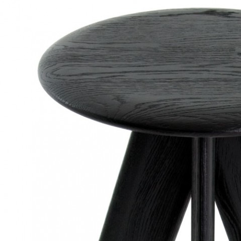 Slab tabouret de bar Tom dixon noir