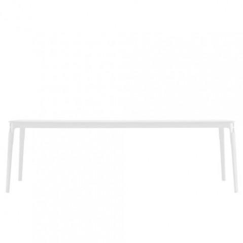 STEELWOOD - TABLE RECTANGULAIRE, 3 couleurs de MAGIS