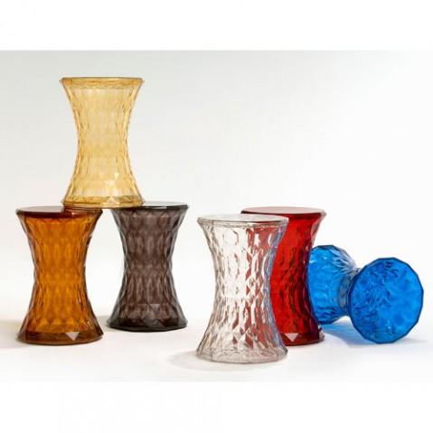Stone Tabouret Design Kartell Cristal