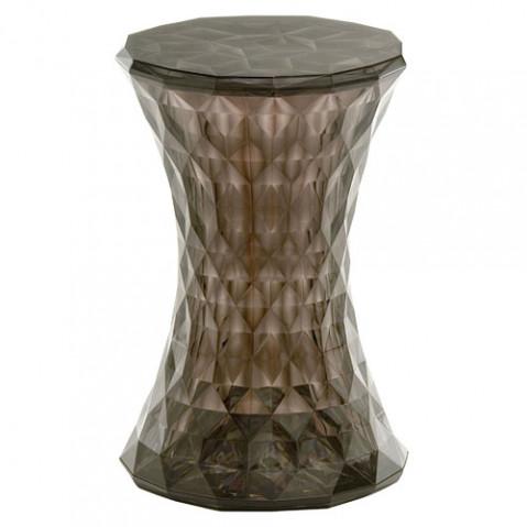 Stone Tabouret Design Kartell Fumé