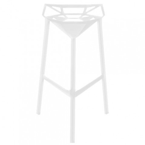 Stool one tabouret magis h77 blanc