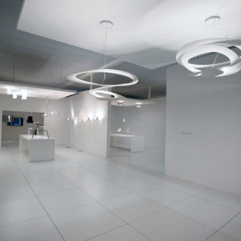 suspension pirce micro led artemide dore