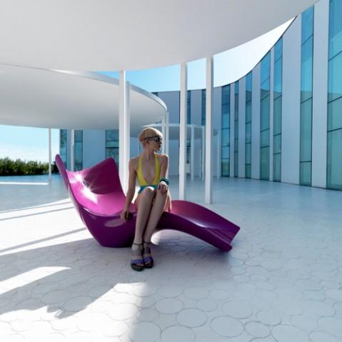Surf Bain De Soleil Design Vondom Blanc