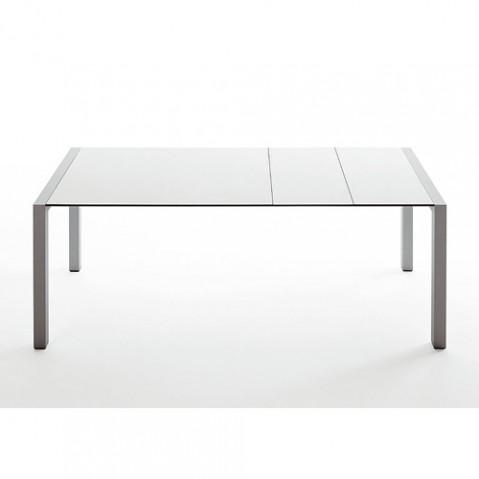 Kristalia table Sushi extensible blanc