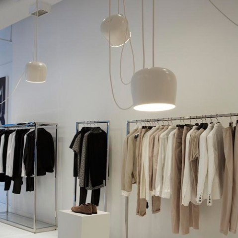 suspension aim led flos blanc