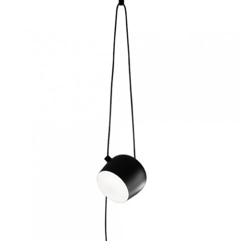 suspension led aim flos noir dimmable