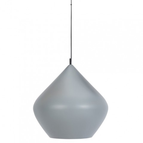 suspension beat light stout tom dixon gris argent