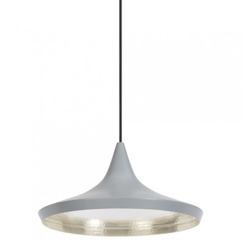 suspension beat light wide tom dixon gris