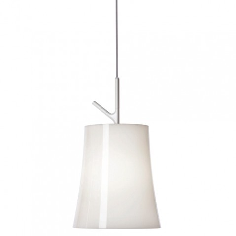 suspension birdie piccola foscarini blanc