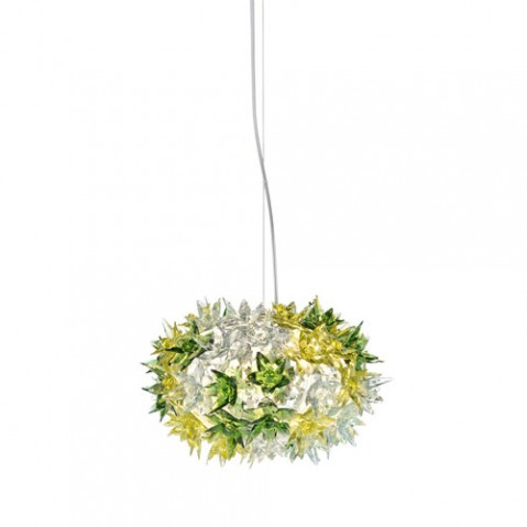 suspension bloom s2 kartell vert menthe