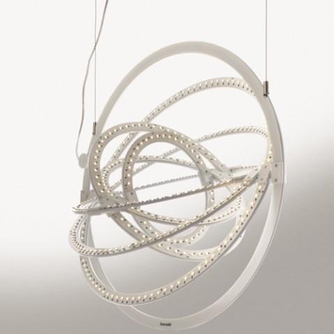 suspension copernico 500 artemide blanc