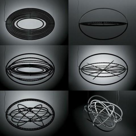 suspension copernico artemide aluminium