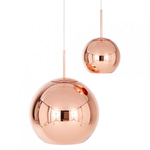 suspension copper round 40 tom dixon