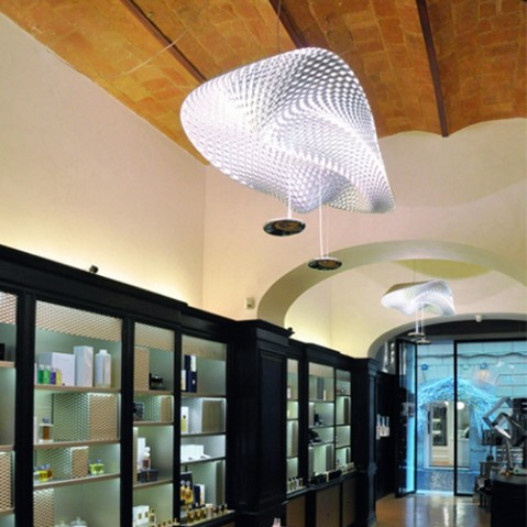 suspension cosmic angel artemide