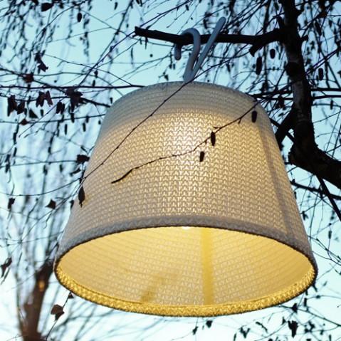 suspension crochet tolomeo mega outdoor artemide blanc