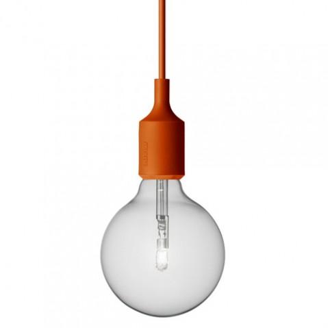 suspension e27 muuto orange