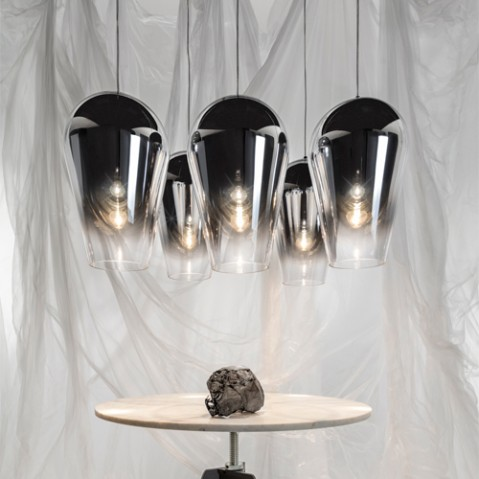 suspension fade tom dixon chrome