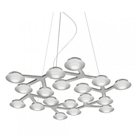 suspension led net circle artemide