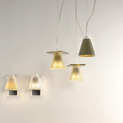 suspension light air kartell cristal