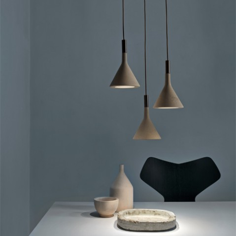 suspension aplomb mini foscarini gris