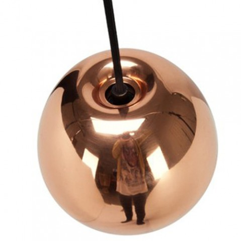 suspension void mini tom dixon cuivre