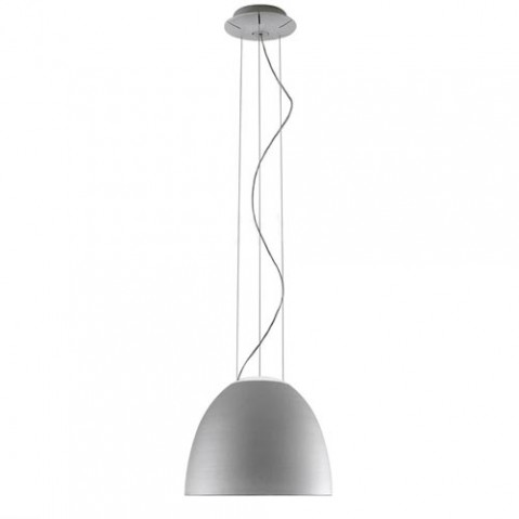 suspension nur mini halogene artemide aluminium