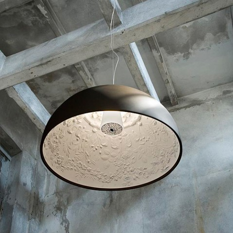 suspension skygarden 1 flos bronze