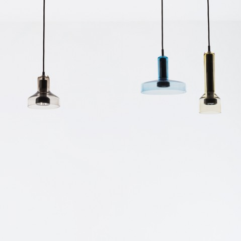 suspension stab light artemide aquamarine