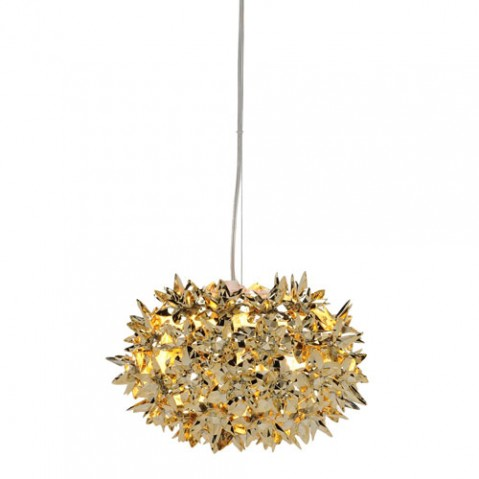 SUSPENSION BLOOM S2 METALLISE, 4 couleurs de KARTELL