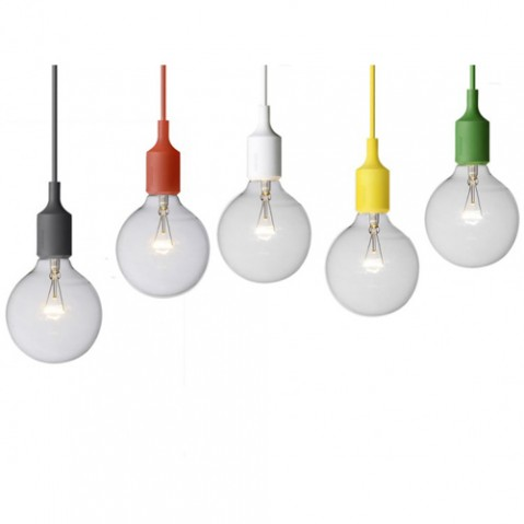 SUSPENSION E27 LED, 18 couleurs de MUUTO